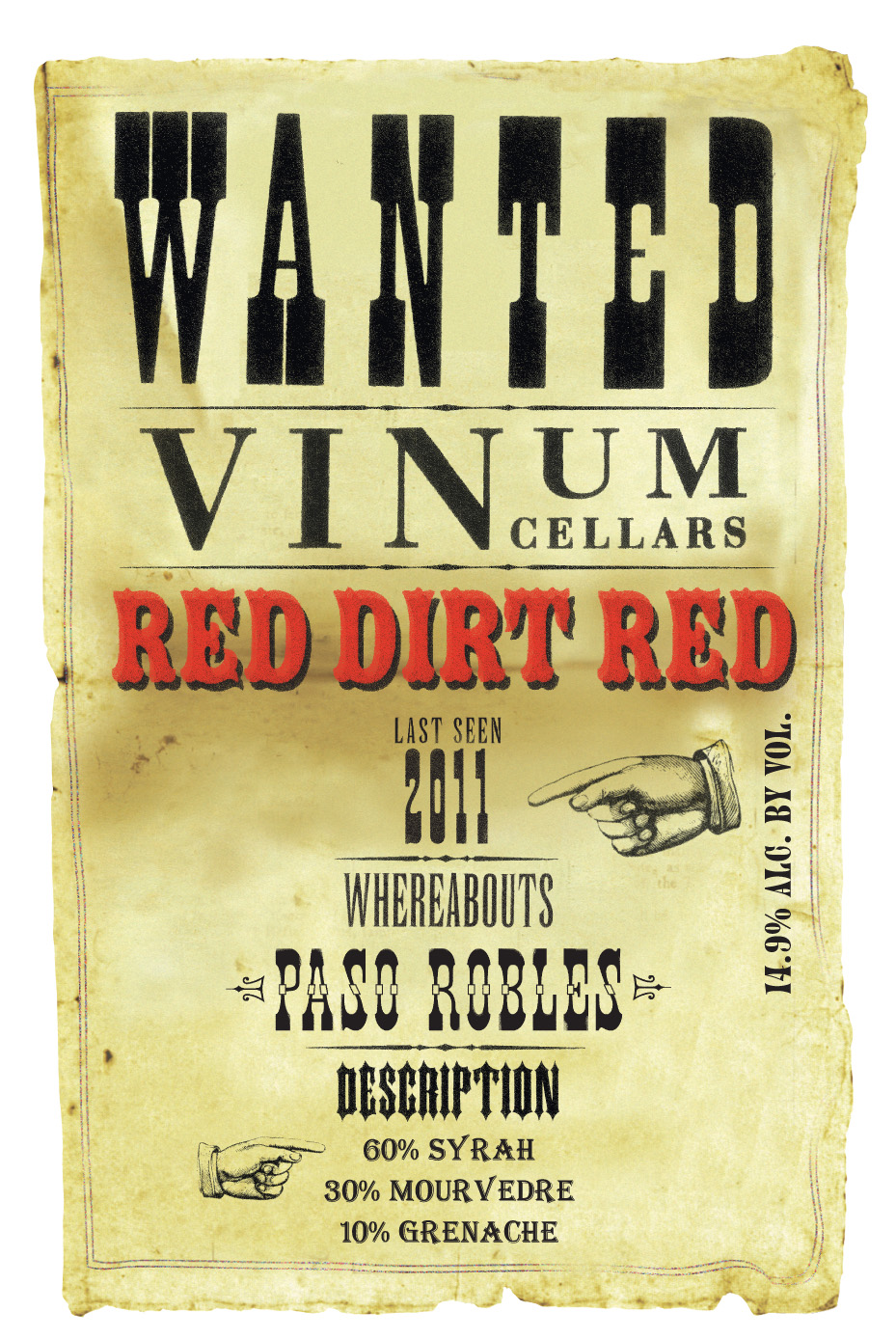 Vinum Red Dirt Red