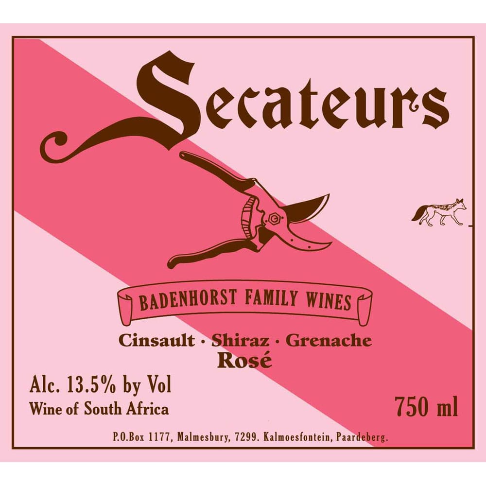 Secateurs Rosé