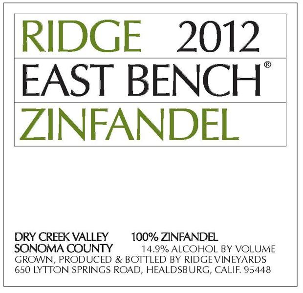 Ridge East Bench