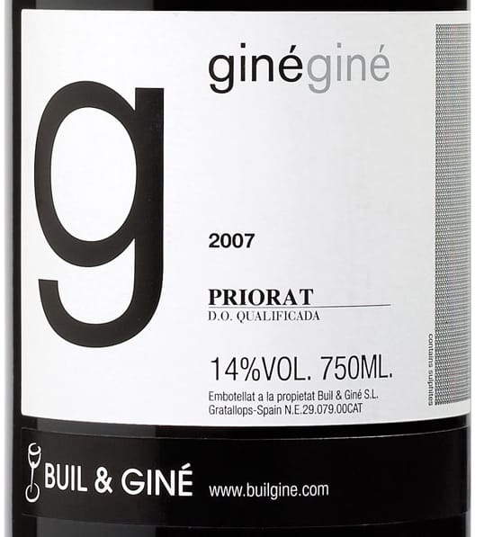 Buil & Giné GinéGiné Priorat