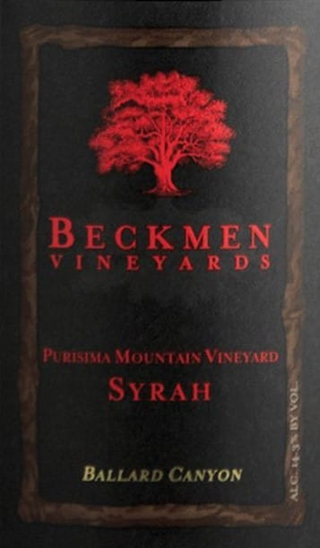 Beckmen Vineyards Syrah