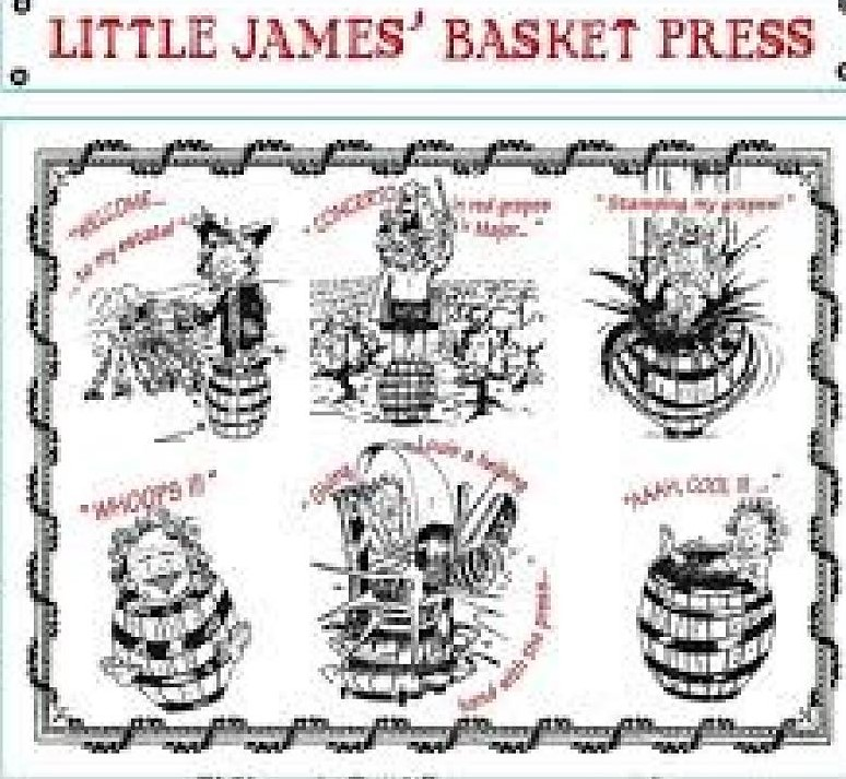Saint Cosme Little James Basket Press