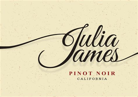 Julia James Pinot Noir